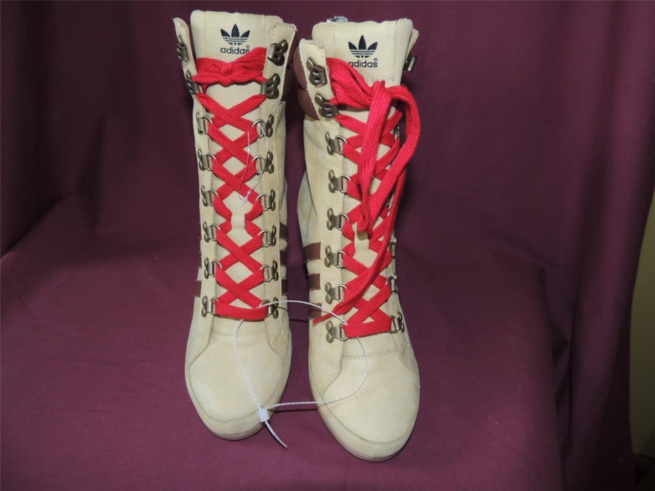 Adidas Originals JS Jeremy Scott Hiking Wedge OBYO Q22917 NEW  Authentic