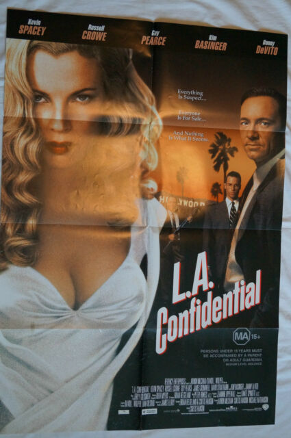 L.A. CONFIDENTIAL - Rare and Collectable - Movie Poster.