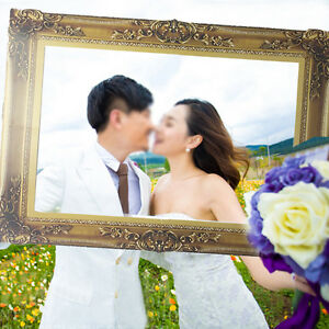Photo Booth Props Antique Paper Frame Large Picture Frame Wedding