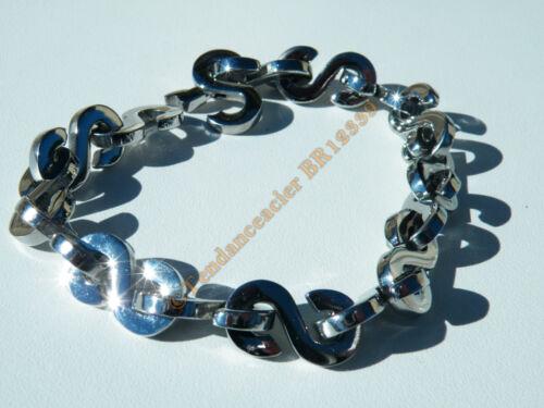 Bracelet bangle shiny stainless steel 16 s $dollar