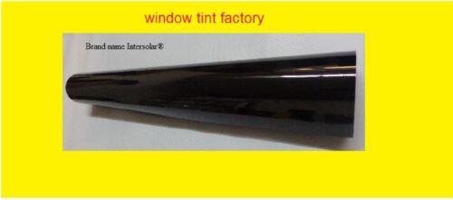 "30/"" x10 feet  1/% Very Dark hp 2ply Black Residential Commercial WIndow film Tint"