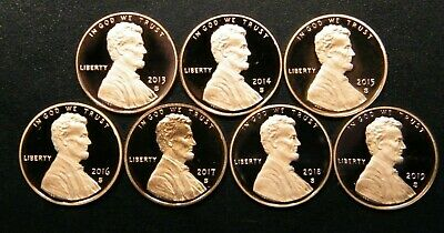 2012 S 2013 S 2014 S 2015 S 2016 S 2017 S 2018 S 2019 S Prf  LincolnPenny//Cent