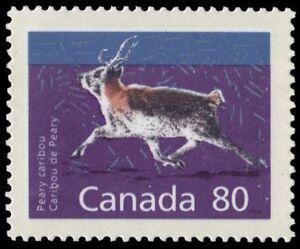 CANADA-1180c-Peary-Caribou-034-1990-Peterborough-Perf-14-4-x-13-8-034-pa48298