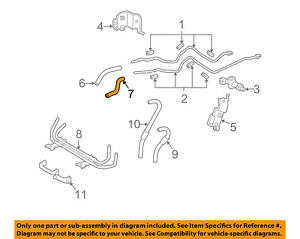 toyota oem 10 14 fj cruiser 4 0l transmission oil cooler inlet hose Sport Trac Engine Diagram image is loading toyota oem 10 14 fj cruiser 4 0l