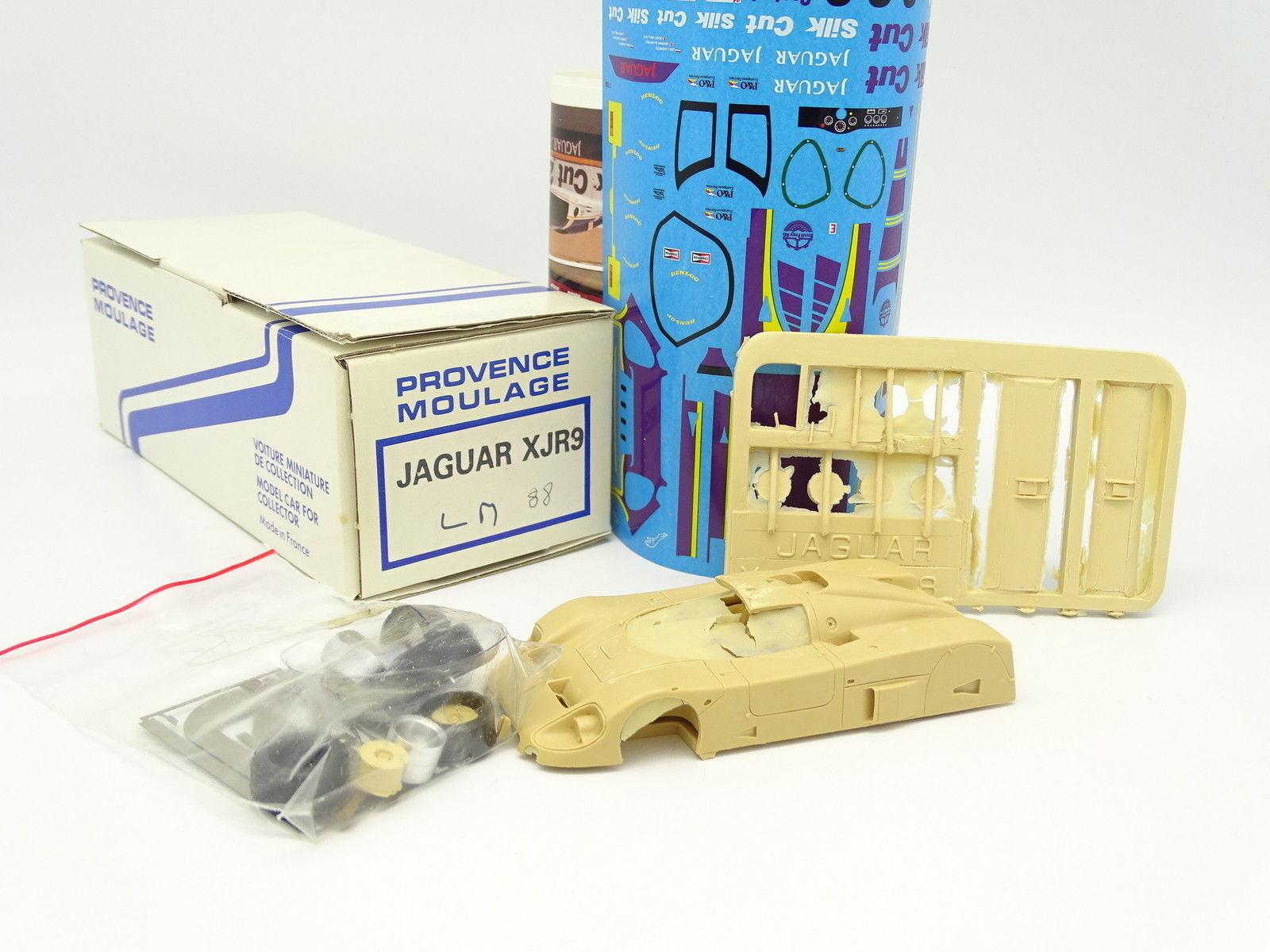 Provence Moulage Kit à Monter 1 43 - Jaguar XJR9 Silk Cut Le Mans 1988