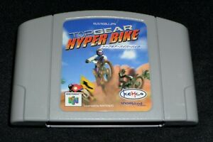 Top Gear Hyper Bike-Nintendo 64 N64 Japón Importación