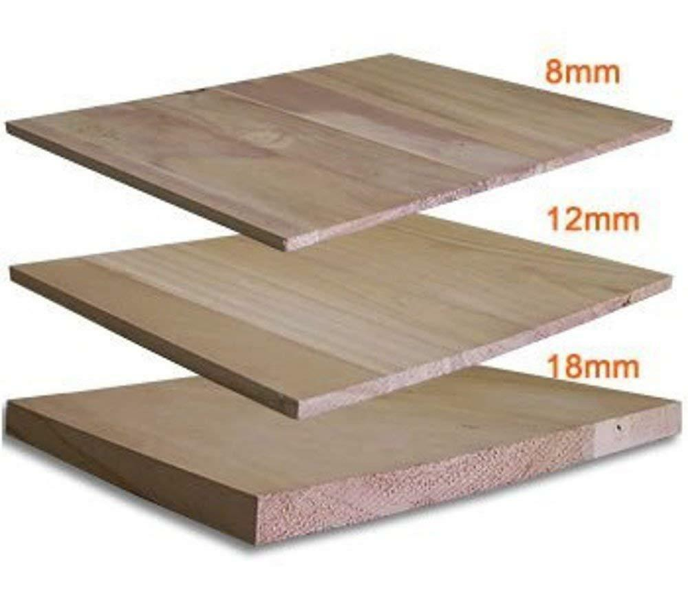 Martial Arts Training Wood Breaking Breakable Boards - 8 mm (90 pcs), 12 mm (64