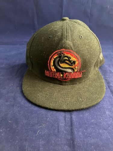 "Mortal Kombat New Era Snapback ""Finish Him"" Vintag"