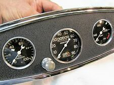 Vintage Stewart Warner 32 ford 2 7/8 speedometer gauges panel 2 3/8 rear mount