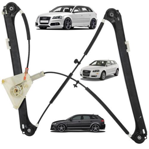 Mecanisme Leve Vitre Avant Gauche Audi A3 Sportback 8PA = 8P4837461A 8P4837461B