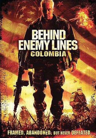 Behind Enemy Lines Colombia DVD 2009  - $1.50