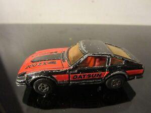Matchbox-1-74-MB00-DATSUN-280-Z-X-1979-Lesney-HK-in-Black-Red