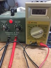 LAB-VOLT VARIABLE DC POWER SUPPLY MODEL 48