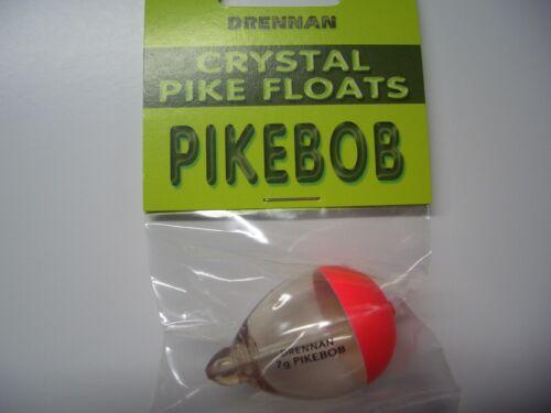 Angelpose Drennan Pikebob 7 g transparent braun Pose Schwimmer Angeln