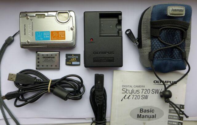 olympus 720 sw 7 1mp digital camera silver ebay rh ebay co uk Olympus Cameras Olympus Stylus 720 SW Charger