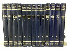 My Book House Complete 12 Vol + Parents' Guide Book Set Lot Beaupre Miller HC