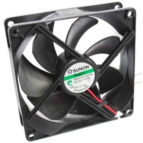 48,24m³//h de Sunon Ha92251v4-1000u-a99 axial-ventilador 92x92x25mm 12vdc 1700u//min