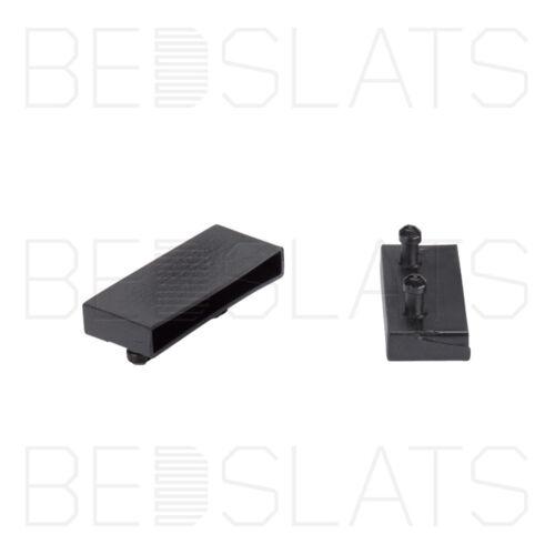 70mm Sprung Bed Slat Holders// Caps for Side Rails with 2 Prongs 10 Pack