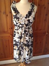 LOVELY TOMMY BAHAMA FLORAL PATTERN DRESS UK SIZE 12-14 BNWT RRP $148
