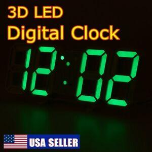 Reloj-de-Pared-USB-3D-Grande-Moderna-Mesa-LED-Digital-de-noche-nos-alarma-Temporizador-de-24-12