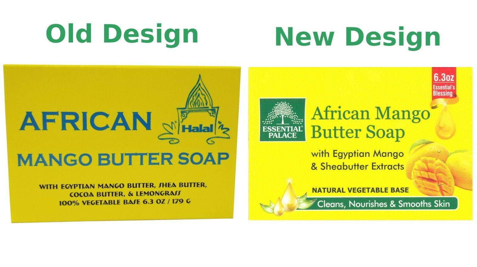 African Mango Butter Soap Bar Halal 100 Vegetable Base Acne 6 3