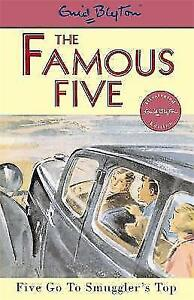 Five-Go-to-Smuggler-039-s-Top-Famous-Five-Enid-Blyton-Paperback-Book-97803