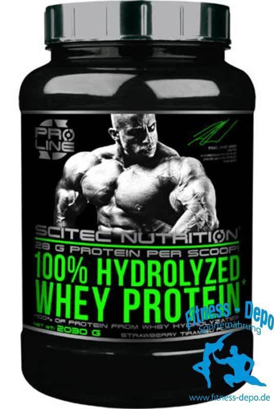 Scitec Nutrition 100% 100% Nutrition Hydrolyzed Whey Protein - 2030g 7013dd