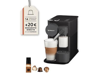 Cafetera de cápsulas Nespresso De Longhi Lattissima One EN500.B, | eBay