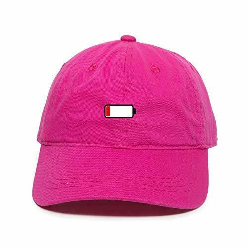 DSGN By DNA Out of Charge Dad Baseball Cap Embroidered Cotton Adjustble Dad Hat