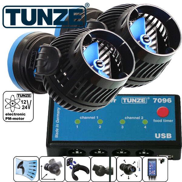 TUNZE MAREA & MAREA MAREA MAREA KIT s18-96 2 x TUNZE Stream 6095 + controller 7096 8687c9
