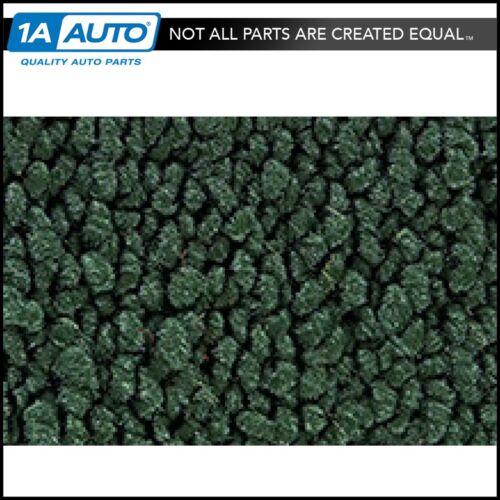 for 62-67 Chevy Chevy II 4 Door Wagon w// Serged Edges 08-Dark Green Cargo Carpet