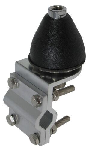 Heavy Duty CB//Ham Antenna Gum Drop Stud with Double Groove 3 Way Mount