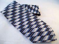 J.blades & Co. Macy's Designer Tie Men's Silk Necktie Usa Monterey Bay Blue
