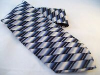 J.blades & Co. Macy's Designer Tie Men's Silk Necktie Usa Monterey Bay Blue