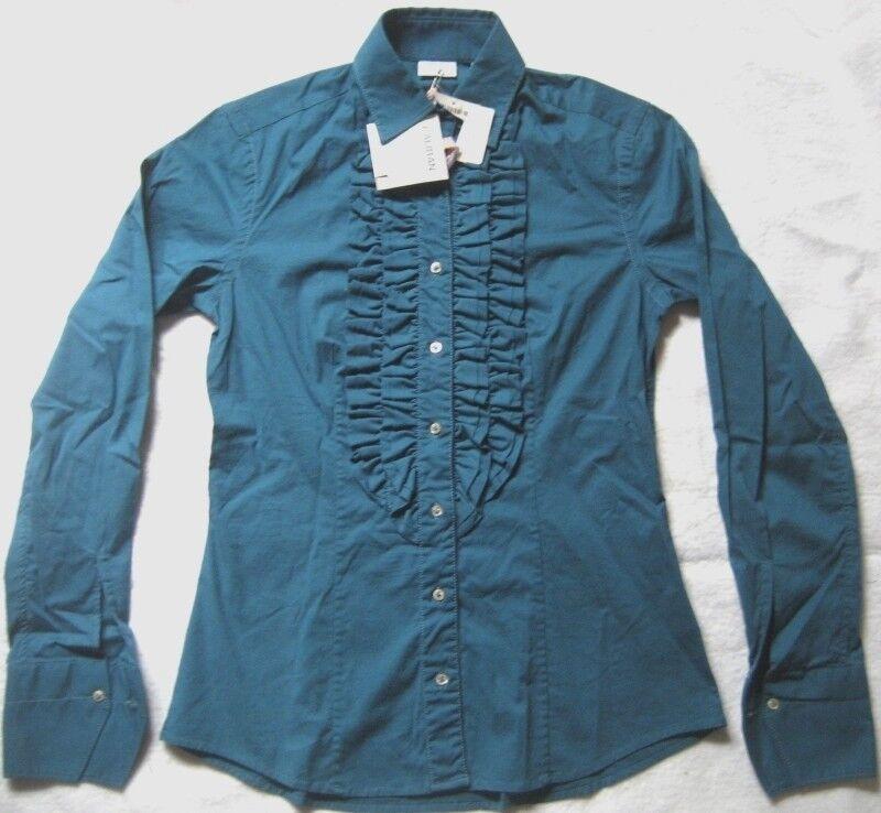 100% autentico GIANNI VERSACE Silk Floral Shirt Slim Fit Fit Slim Size S/M MINT 52c883