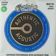Superior Performance 80//20 Bronze 012-054 Gitarrensaiten Martin MA140