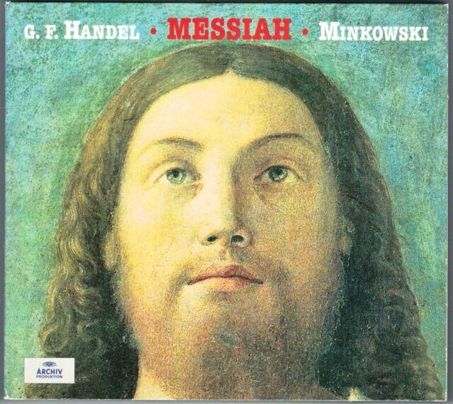 HANDEL MESSIAH Lynne Dawson Magdalena Kozena Brian Asawa MARC MINKOWSKI 2CD NEU