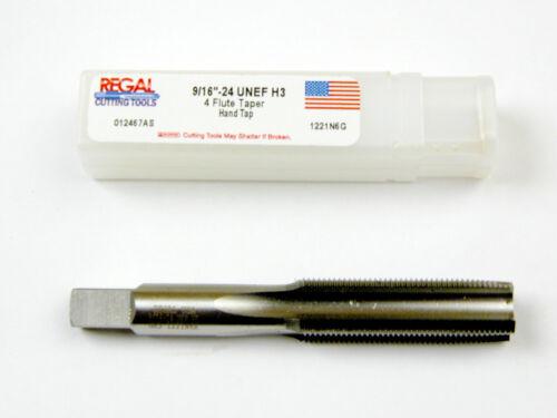 B-2-8-4-6 9//16 X 24 NEF HSG H3 4 FLUTE  TAPER TAP REGAL