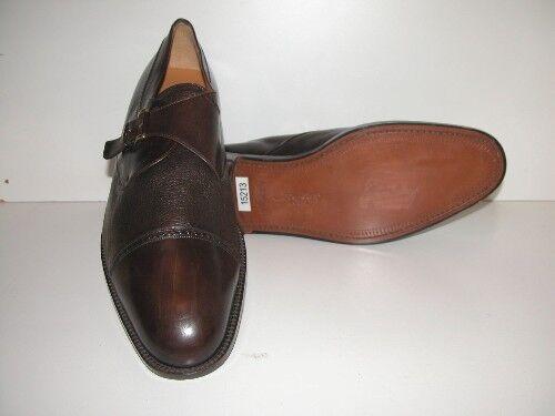 Men's-Mezlan-Istanbul-Dimensione 17M-Dark Marronee Leather Oxford scarpe