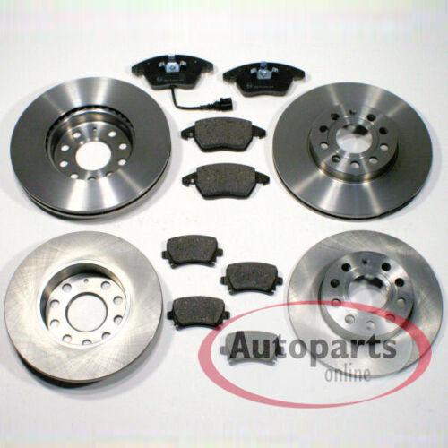 Bremsscheiben Bremsen Bremsbeläge Bremsklötze für vorne hinten Audi Q5