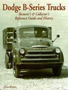 Dodge-B-Series-Truck-Originality-Restoration-Identify-Guide-1948-1953-Book