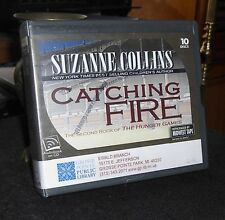 Catching Fire The Hunger Games #2 by Suzanne Collins Unabridged Audiobook CDs