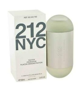 212 by Carolina Herrera 3.4 / 3.3 oz edt Perfume for women NEW tester