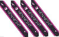 Hen Night Party - Bridal - Foil Banner (9ft Long Design Repeats x 3)