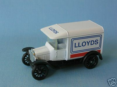 Matchbox MB-44 Ford Model T Van Lloyds Chemist Pre-pro Trial Rare