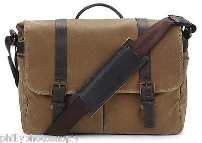 ONA Brixton Canvas Camera/Messenger Bag (Tan) -Handcrafted Premium Stylish Bag