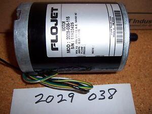 La Foto Se Está Cargando Flojet Motor Electrico 2029 038 115 Alfombra Express