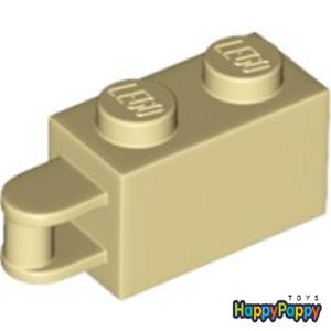 Lego 4x Stein mit Griff 1x2 Beige Tan Brick with Handle 34816 Neuware New