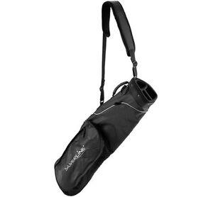 Schwarzes-Range-Golfbag-Umhaengebag-Winterbag-Minibag-Rangebag-schwarz-NEU