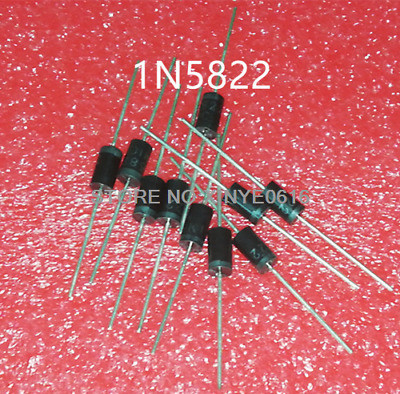 20pcs 1N5822 D0-27 40V 3A SCHOTTKY DIODE NEW GOOD QUALITY